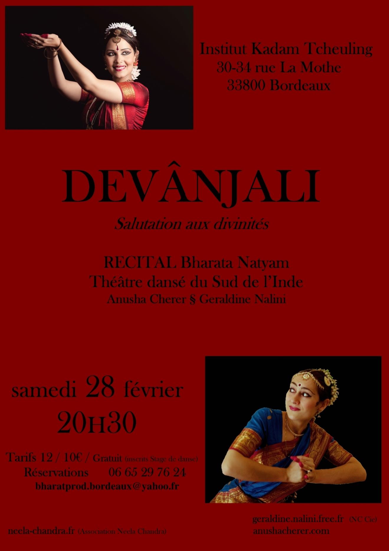 Bharata Natyam - Devanjali