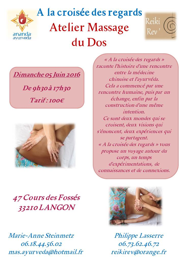 Atelier Massage du Dos