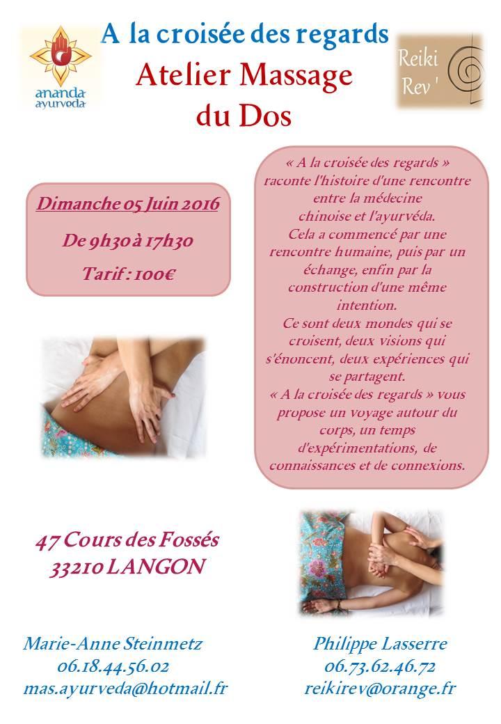 Atelier Massage du Dos