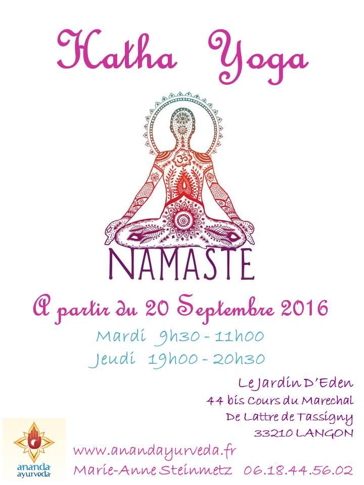 Hatha Yoga 2016 - 2017