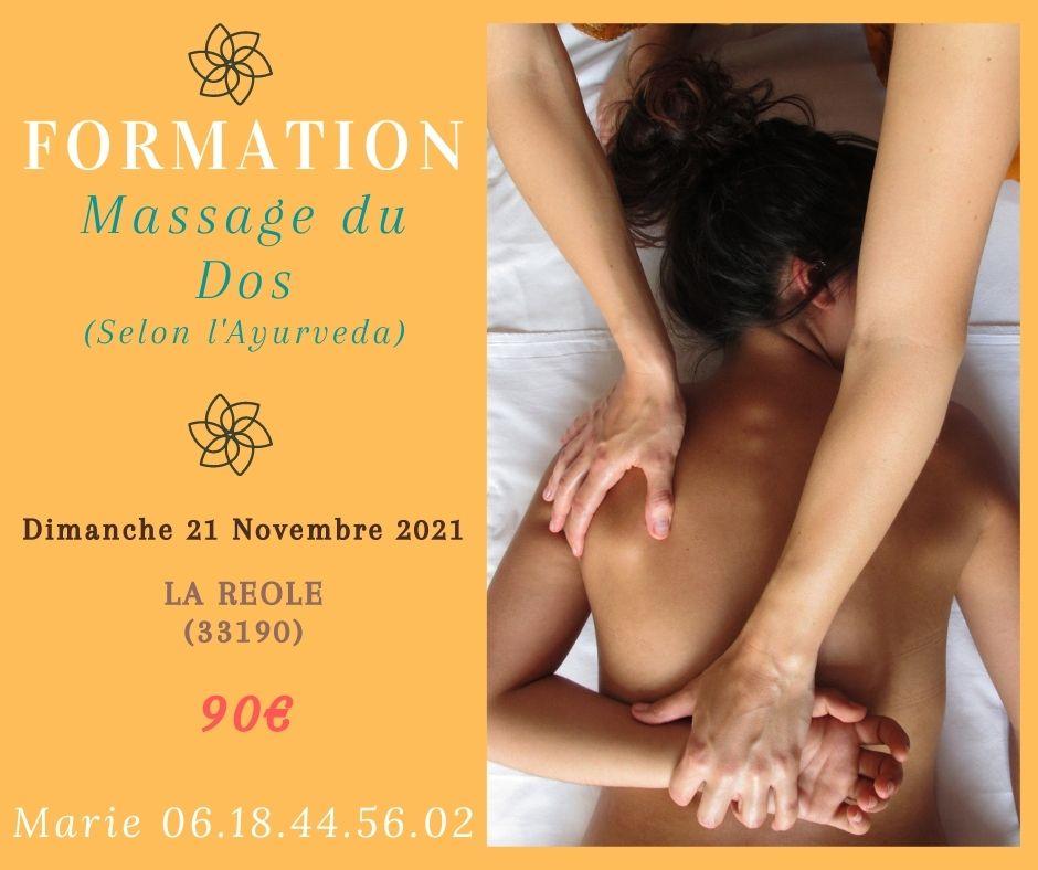 Formation Massage du Dos