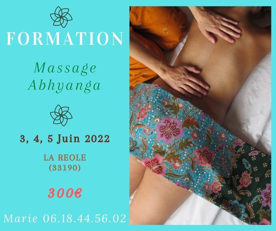 Formation Massage Abhyanga